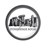 Stonehenge Rocks Wall Clock