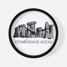Stonehenge Rocks Wall Clock