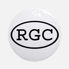 RGC Oval Ornament (Round)