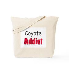 Coyote Addict Tote Bag