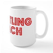 Retro Wrestling C.. (Red) Mug
