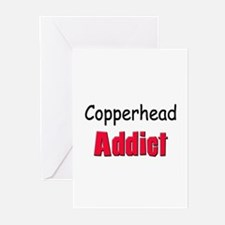Copperhead Addict Greeting Cards (Pk of 10)