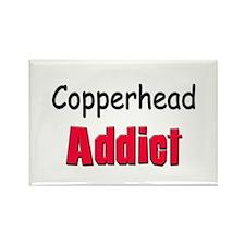 Copperhead Addict Rectangle Magnet