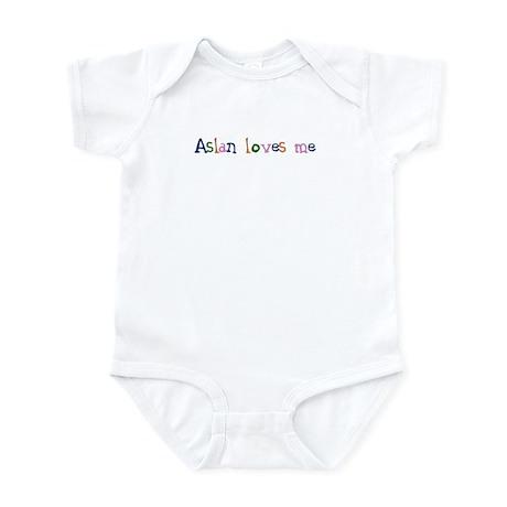 Aslan Loves Me Infant Bodysuit