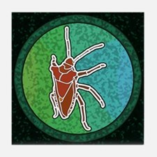Shield Bug Tile Coaster