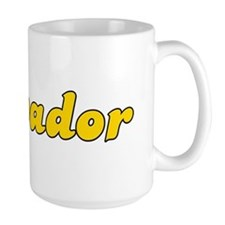 Retro Salvador (Gold) Mug