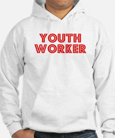 Retro Youth Worker (Red) Hoodie