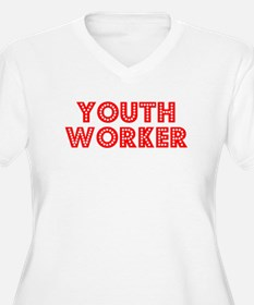 Retro Youth Worker (Red) T-Shirt