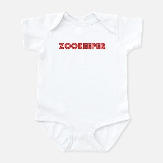 Retro Zookeeper (Red) Infant Bodysuit