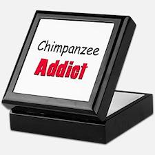 Chimpanzee Addict Keepsake Box
