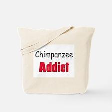 Chimpanzee Addict Tote Bag