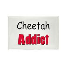 Cheetah Addict Rectangle Magnet