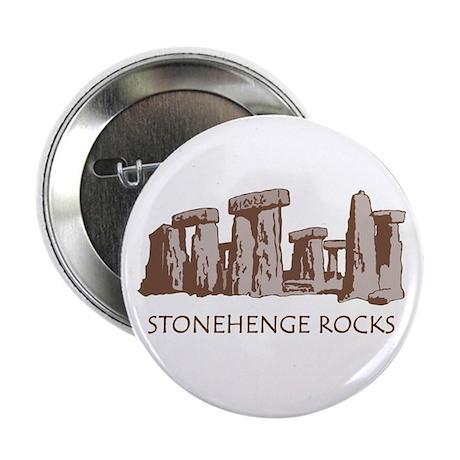 "Stonehenge Rocks RD 2.25"" Button"