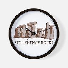 Stonehenge Rocks RD Wall Clock