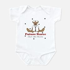 Future Nurse Like Auntie Baby Infant Bodysuit
