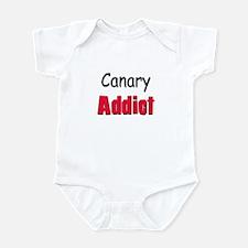 Canary Addict Infant Bodysuit