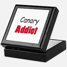 Canary Addict Keepsake Box