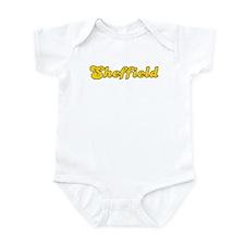 Retro Sheffield (Gold) Infant Bodysuit