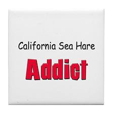 California Sea Hare Addict Tile Coaster