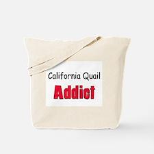 California Quail Addict Tote Bag