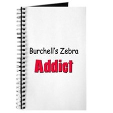 Burchell's Zebra Addict Journal