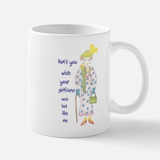 Cute Hot girl friend Mug