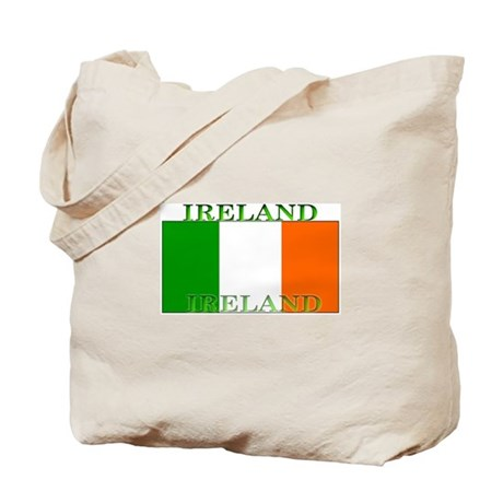 Ireland Irish Flag Tote Bag