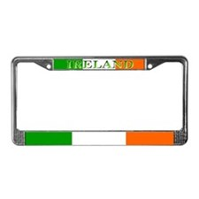 Ireland Irish Flag License Plate Frame