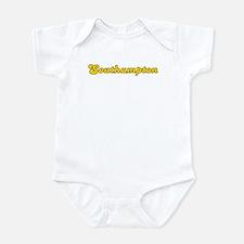 Retro Southampton (Gold) Infant Bodysuit