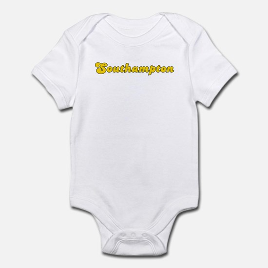 Retro Southampton (Gold) Infant Bodysuit