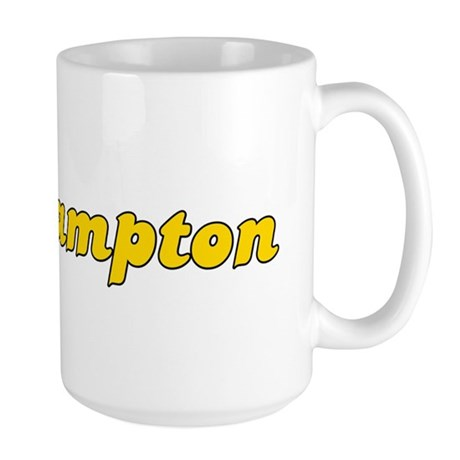 Retro Southampton (Gold) Large Mug