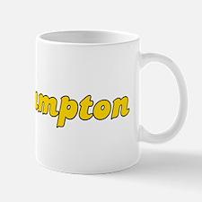 Retro Southampton (Gold) Mug