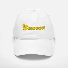 Retro Suweon (Gold) Baseball Baseball Cap