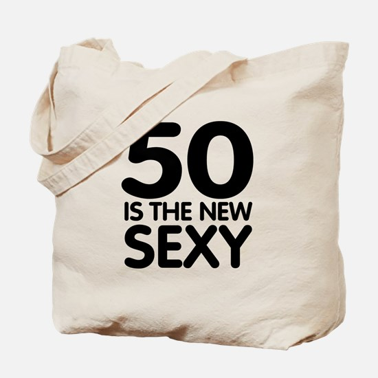 50 is the new sexy Tote Bag