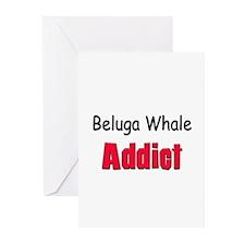 Beluga Whale Addict Greeting Cards (Pk of 10)