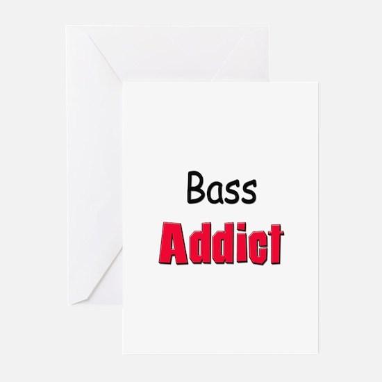 Bass Addict Greeting Cards (Pk of 10)