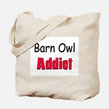 Barn Owl Addict Tote Bag