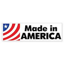 Made In America Bumper Bumper Sticker
