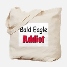 Bald Eagle Addict Tote Bag