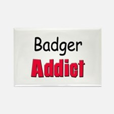 Badger Addict Rectangle Magnet