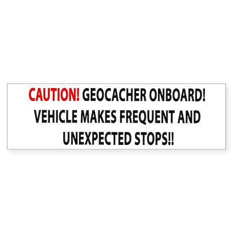 Geocaching sticker