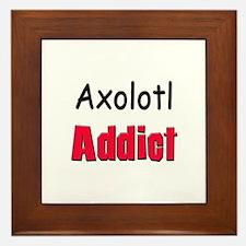 Axolotl Addict Framed Tile