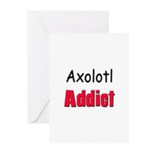 Axolotl Addict Greeting Cards (Pk of 10)