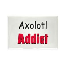 Axolotl Addict Rectangle Magnet