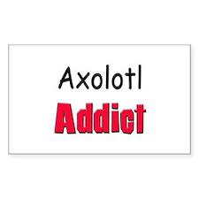 Axolotl Addict Rectangle Decal