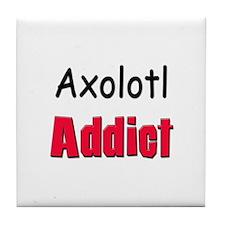 Axolotl Addict Tile Coaster
