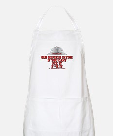 Oilfield Saying, If You Can't BBQ Apron