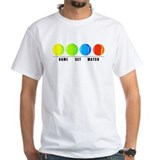 Tennis Mens White T-shirts