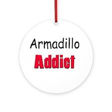 Armadillo Addict Ornament (Round)