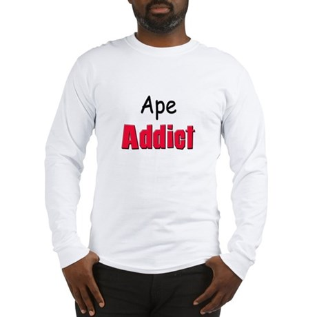 Ape Addict Long Sleeve T-Shirt